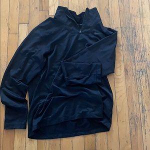 Large Nike Dryfit 3/4 zip